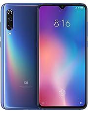 "eiAmz Xiaomi Mi 9 Smartphone,6 GB de RAM, 64 GB de ROM, 6.39"" AMOLED Dot Drop en Pantalla Completa, 48 MP 117 ° Macro de Gran Angular Triple cámara (12 + 48 + 16 (Azul)"
