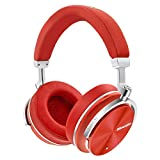 Cheap Bluedio T4S (Turbine) Active Noise Cancelling Over-ear Swiveling Wireless Bluetooth Headphones with Mic (Red)