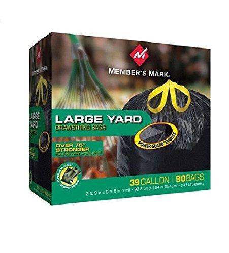 39 gallon heavy duty trash bags - 2