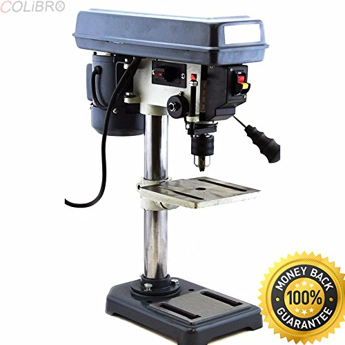 COLIBROX--5 Speed 8'' Electric Drill Press W/ Laser Guide Power Tools HD Home Business New. benchtop drill press reviews. drill press craftsman. best delta benchtop drill press. by COLIBROX