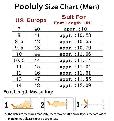 Chaussures Deau De Séchage Rapides En Plein Air Pooluly Pour Hommes
