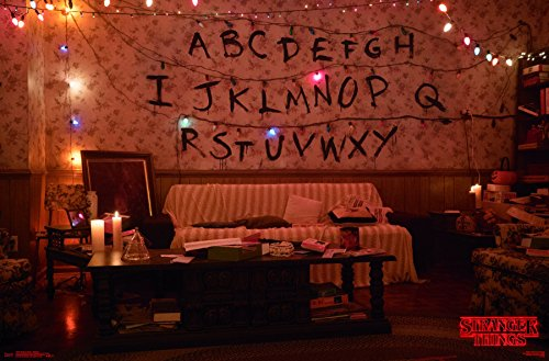 Trends International Wall Poster Stranger Things-Alphabet, 22.375