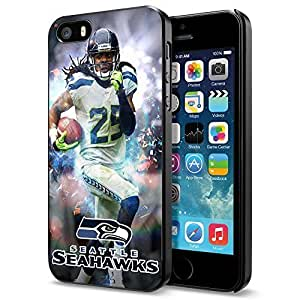 Zheng caseZheng caseNFL Seattel Seahawks , Cool iPhone 4/4s Smartphone Case Cover Collector iphone Black