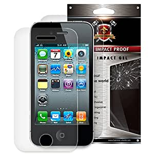 Hammer Shield - Front & Back All-in-One Super Impact Proof Screen Protector for Apple® iPhone® 4 and 4s