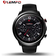 LEMFO LEF2 Android 5.1 Smart Watch Two Modes RAM 512MB ROM 8GB Bluetooth Smartwatch Support Heart Rate Monitor GPS Wifi SIM Card for Android and iOS