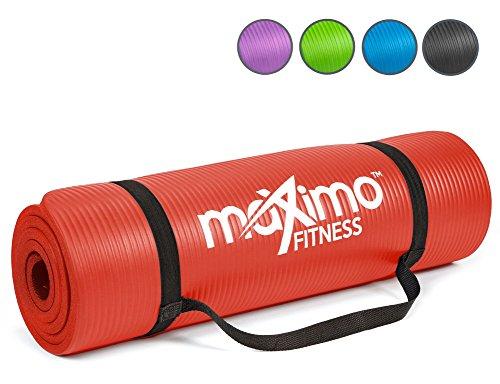 Maximo Exercise Mat - Premium Quality NBR Fitness Mat - Multi Purpose -...