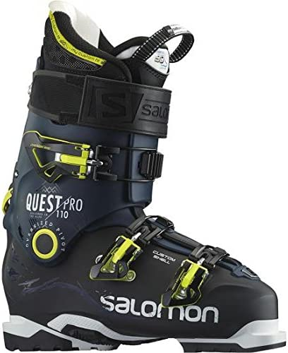 Salomon Ski – Quest Pro 110 2016 Schwarz Blau 265: Amazon Fmpfp