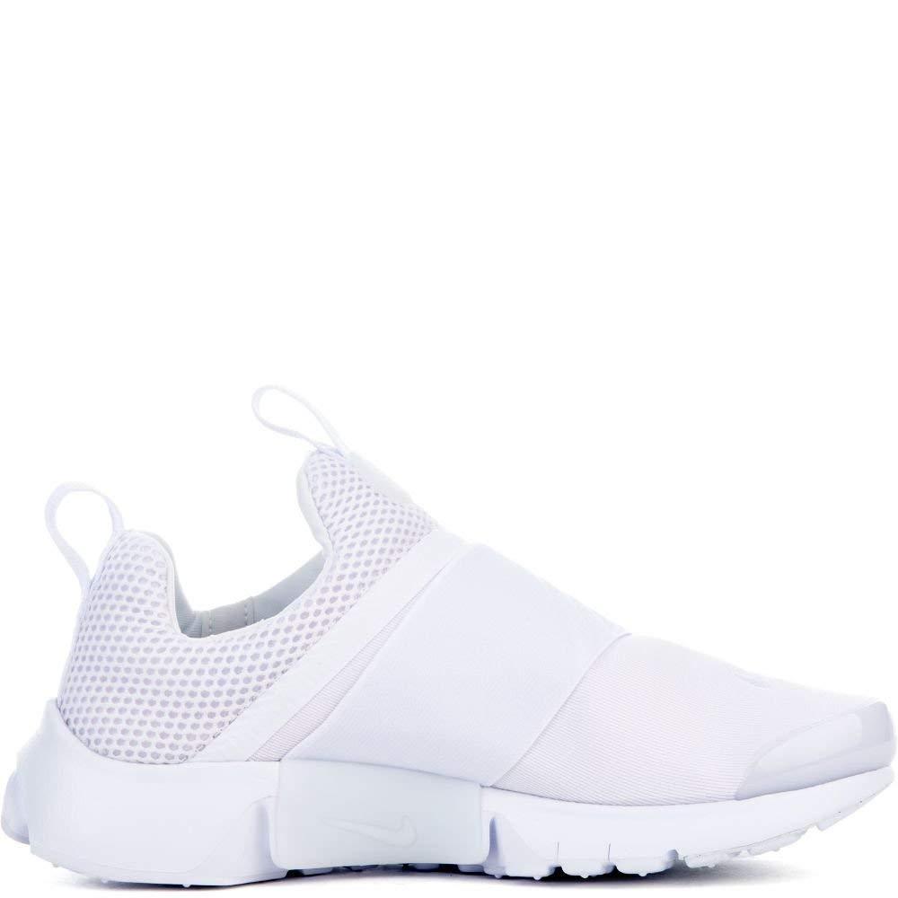 Nike Presto Extreme (GS) Girls Running-Shoes 870020-101_4Y - White/White-White