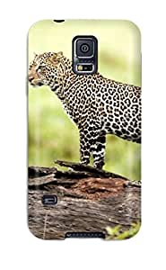 High-quality Durability Case For Galaxy S5(leopard Wildlife)