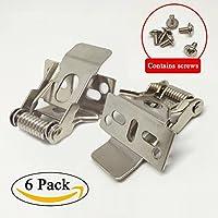 Yctze Kit de Montaje de Clip de protecci/ón de Mano 1-1//8 Pulgadas 28 mm Protector de Mano de aleaci/ón de Motocicleta