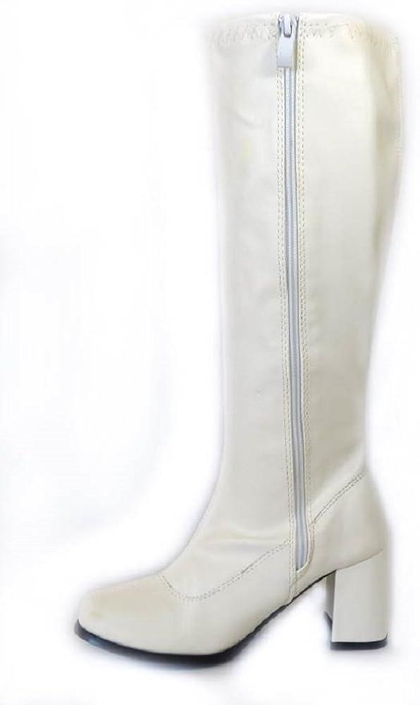 SEXYCA Ladies Womens Fancy Dress Party GO GO Boots 60s 70s Retro Size 3 4 5 6 7 8 TM