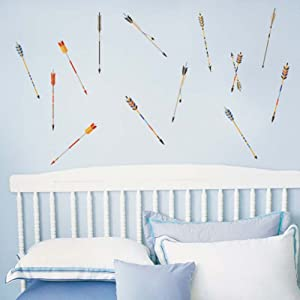 Colourful Feather Arrows Wall Decal Wall Decal Vinyl Art Quotes The Bedroom Decor Wall Sticker