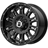 XD Series by KMC Wheels XD795 Hoss Gloss Black Wheel With Clearcoat (17x9