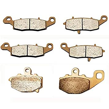 Volar Sintered HH Front & Rear Brake Pads for 2007-2014 Kawasaki Versys 650 KLE650