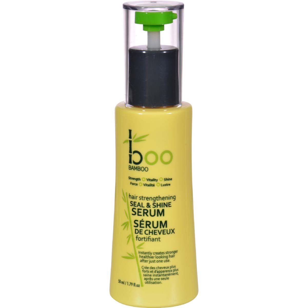 Boo Bamboo Hair Strengthening Seal and Shine Serum, 1.69 OZ