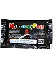 Mystical Fire Flame Colorant Vibrant Long-Lasting Pulsating Flame Color Changer for Indoor or Outdoor Use 25 g Packets 24 Pack