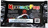 Mystical Fire Flame Colorant Vibrant Long-Lasting Pulsating Flame Color Changer for Indoor or Outdoor Use 25 g