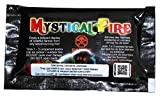 Mystical Fire Flame Colorant Vibrant Long-Lasting Pulsating Flame Color Changer for Indoor or Outdoor Use 0.882 oz. Packets 3 Pack