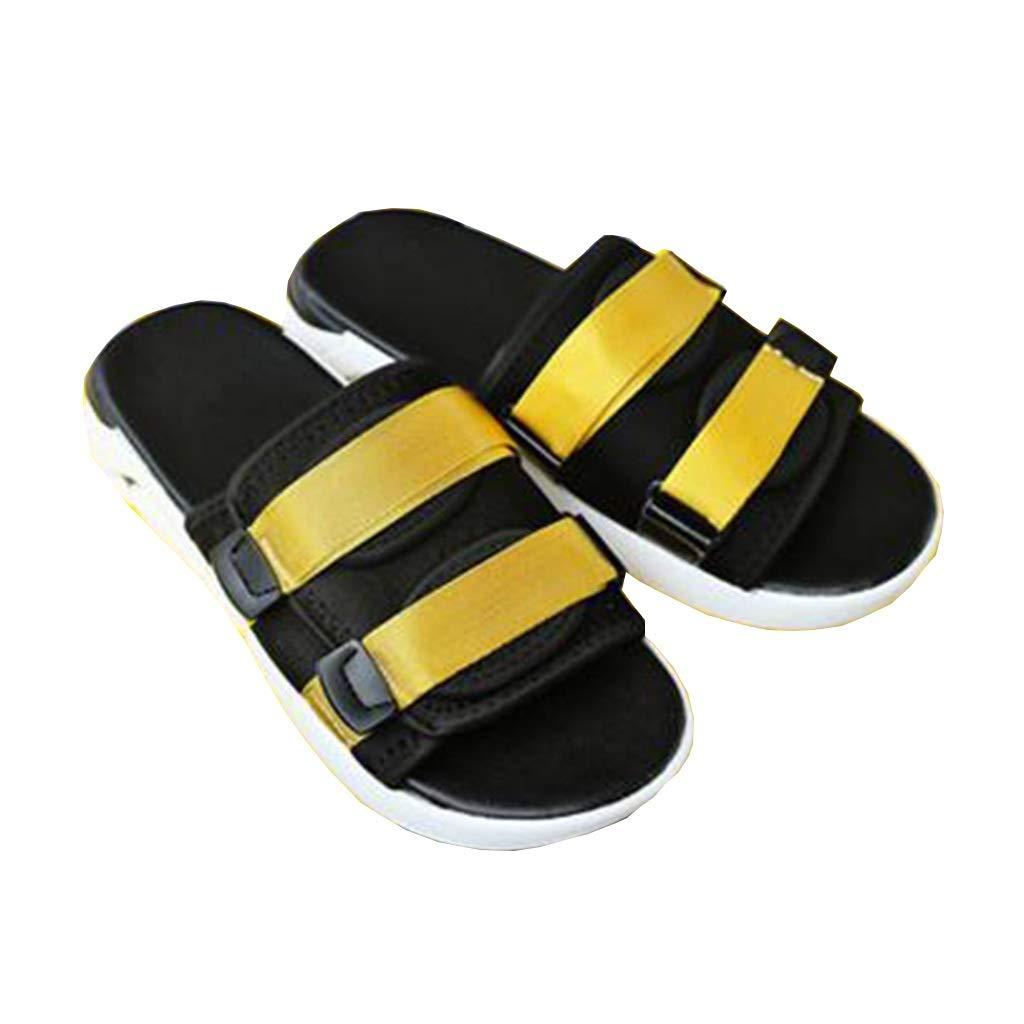 TD TD TD SH907 Sandalen Mode Tragen Trend Strand Schuhe Freizeit Student Sandalen Männer Sand Drag (Farbe   SCHWARZ, größe   EU39 UK6.5 CN40)  bcdeec