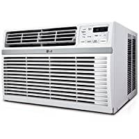 LG LW8016ER 8,000 BTU 115V Window-Mounted AIR Conditioner with Remote Control (Certified Refurbished)