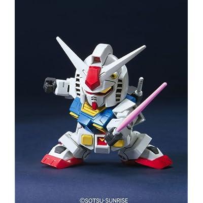 Bandai Hobby BB#329 RX-78-2 Gundam Animation Color SD Action Figure: Toys & Games