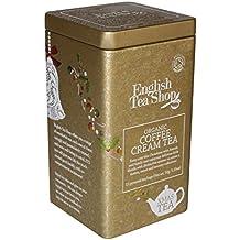 English Tea Shop Coffee Cream Square Tin Nylon Pyramid, 30 Gram
