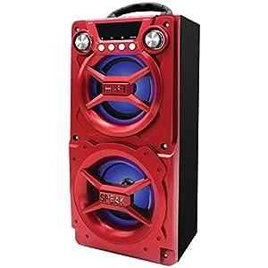 Amazon.com: Sylvania SP328-Red Portable Bluetooth Speaker