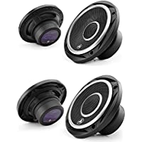 Jl Audio C2-400 x 4-Inch 2 Way Speakers C2-650X Evolution C2 Series 6-1/2 2-way car speakers