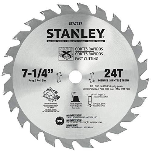 Stanley STA7737 Disco Sierra Circular, 71/4 Pulgadas 18T