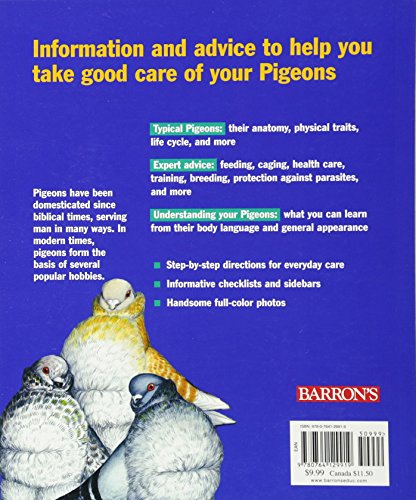 Pigeons (Complete Pet Owner's Manual) 2