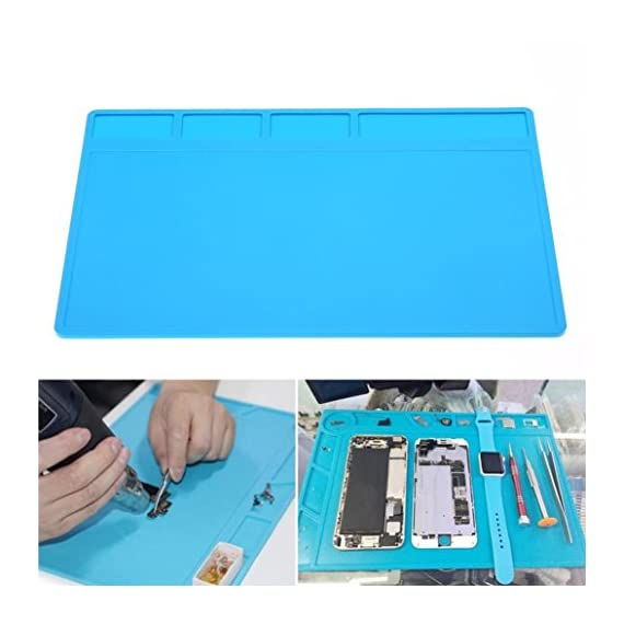 GoodLock Heat Resistant Thermal Insulation Pad Silicone Mat Soldering Repair Maintenance Platform Blue 2 ❤️Expedited Shipping:3-7 Days.🐾 Standard shipping:7-15 Days.🐾 Within 24 Hours Shipping Out.💕 macaron silicone mat for baking baby crafting hair tools counter dog bowls mats sheets glue gun makeup brushes fondant toaster oven toddler table transparent trivet thin textured to cook on thick nail art ateco amazon basics and rolling pin ❤️High-temperature splash-proof performance is stronger than the ordinary insulation pad 1.5 times. 💕 antistatic bowl anti skid soldering stove soap small square solder slim set of sink plate sheet 20x13.5 dab kit black storage long high temp silpat gray cute x holes honeycomb pet food mini circle kids rig purple 12x18 3mm 12x16 with measurements ❤️Corrosion protection, repair insulation, insulation brazing. 💕 wood grain wax dough mate gourd desk 8x8 kitchen raised edge holder cutting eating yellow cat pastry magnetic grill waterproof jumbo phone tupperware woodworking craft gripper rack pot half resin rolls inches round lay cell rockler grip grid dish xxl