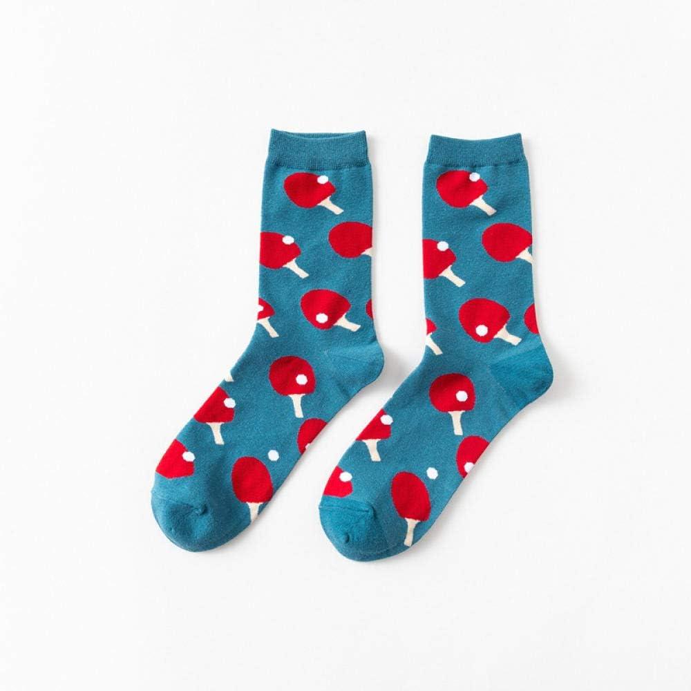 POYANG 3 Pares de Calcetines de Marea Calcetines Felices Calcetines de Pareja Personalizados Calcetines de Tubo Largo de algodón Calcetines de Hombre