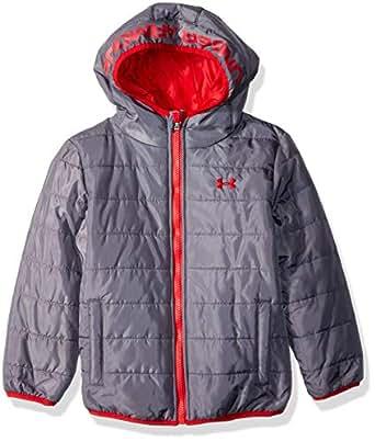 Under Armour Boys' Little Pronto Puffer Jacket, Graphite, 6