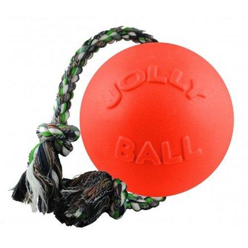 """Jolly Pet Romp-n-Roll Toy, Orange, 6"""""""