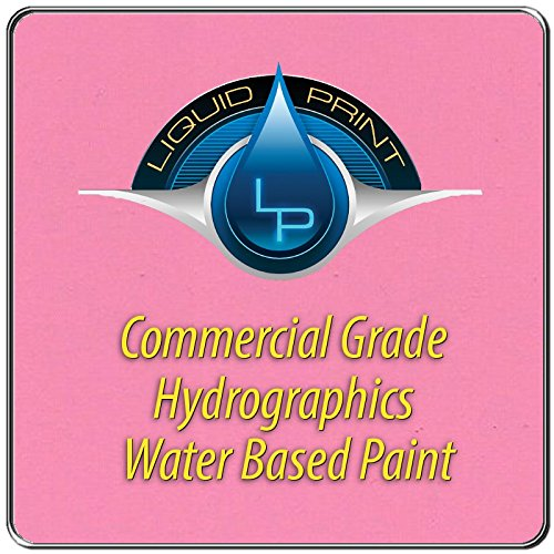 Pink Hydrographics Paint - 1 Quart - Water Based - Liquid Print Hydrographics Paint Supplies by Liquid Print