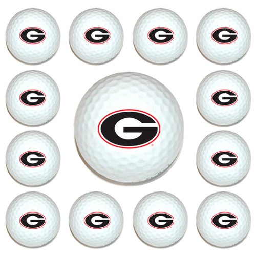 University of Georgia Logo Golf Balls - Dozen Pack