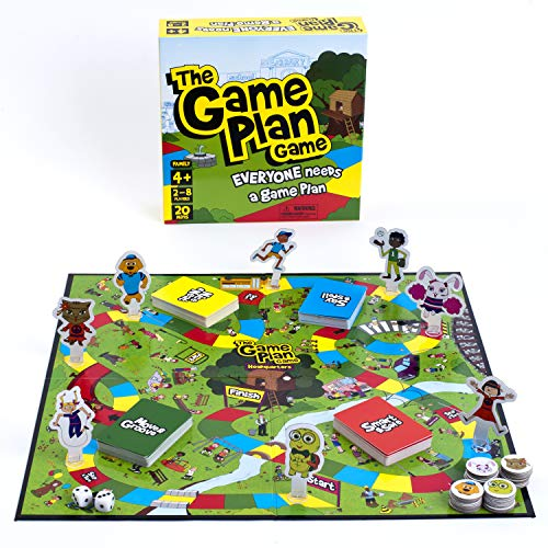 The Game Plan Game: Teach Your Child to Be Safe - Life Skills, Feelings Management, Personal Safety ()