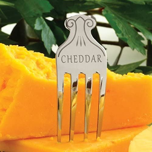 Set of 6 NOR-334 Norpro Stainless Steel Cheese Markers