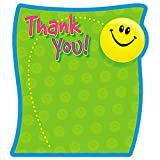 TREND ENTERPRISES INC. NOTE PAD THANK YOU 50 SHT 5X5 ACID (Set of 24)