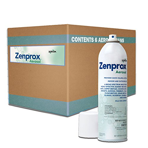 Zenprox Aerosol 1 Case 6 Cans X 16 Oz Ea. 802250 by zoecon