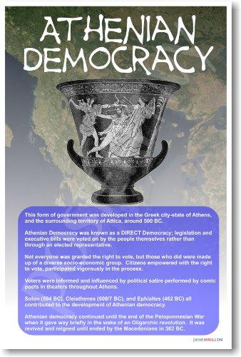 Ancient Greece: Athenian Democracy - Classroom Poster