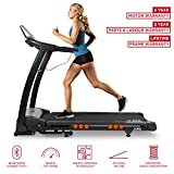 JLL S400 Digital Folding Treadmill, 2018 New Generation Digital 4.5HP Motor, Expansive Running Area,...