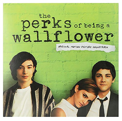 Various Artists - The Perks Of Being A Wallflower Soundtrack Exclusive Black Vinyl LP - Exclusive Flower
