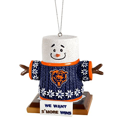 NFL Smores Tree Ornament Chicago Bears