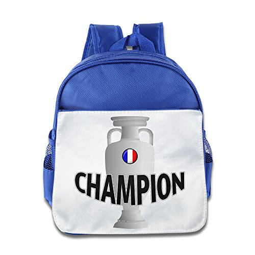 Voltes 5 Costume (VOLTE France Flag Champion RoyalBlue Backpack Bag For Children School Travel Schoolbag)