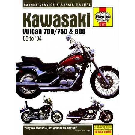 amazon com haynes kawasaki vulcan 700 750 800 manual m2457 automotive rh amazon com 2005 Kawasaki Vulcan 800 Drifter 2005 Kawasaki Vulcan 800 Drifter