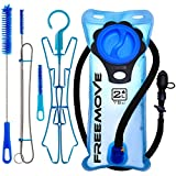 2L Hydration Pack Water Bladder & Cleaning Kit | BEST CHOICE TO STAY HYDRATED | Leak Proof Water Reservoir | Large...