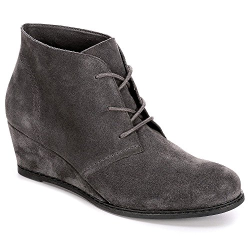 B-JORNDAL-Bjorndal-Womens-Rachel-Wedge-Heel-Chukka-Bootie-Shoes