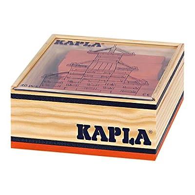 Abysse KAAC40O - Coffret de 40 Planchettes - Bois - Orange
