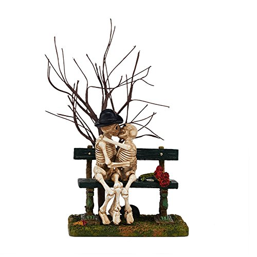 Department 56 Halloween Village Kiss of Death Accessory Figurine, 5.71 - Village Accessory Collectible